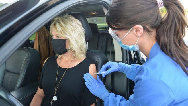 CentraCare and Carris Health are offering drive-thru flu vaccines this year at its locations including in Redwood Falls.