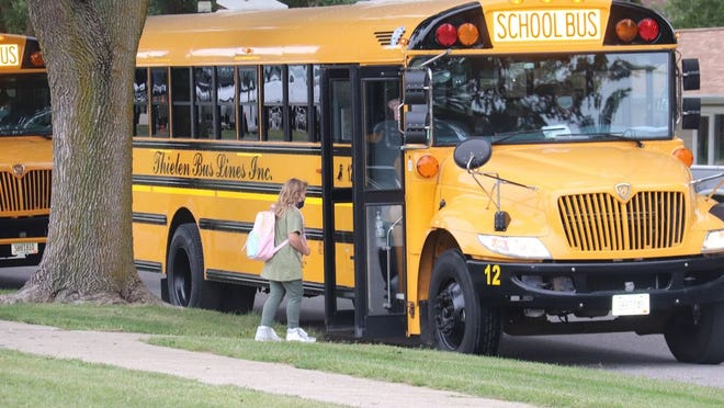 Studies show children are eight times safer riding in a school bus than they are in any other vehicle.