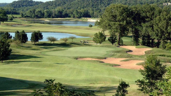 Osage National hole No. 8 on the Mountain Course.