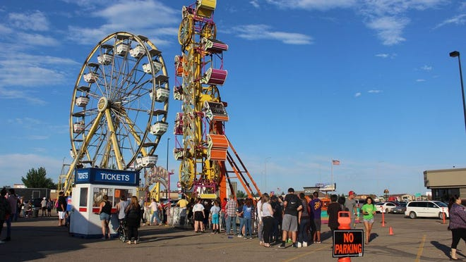 The Mighty Thomas Carnival has brought some new rides this year - stop by the City Plaza parking lot and check it out!