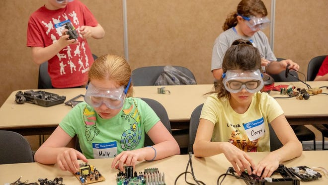 From the 2019 Camp Invention summer camp at S&T.
