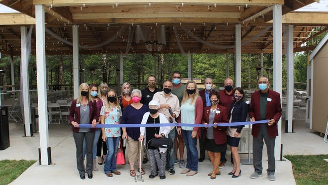 The Rolla Area Chamber of Commerce held a ribbon cutting for The Village at the Dabler Place at their event venue located on 53 acres off State Route E.