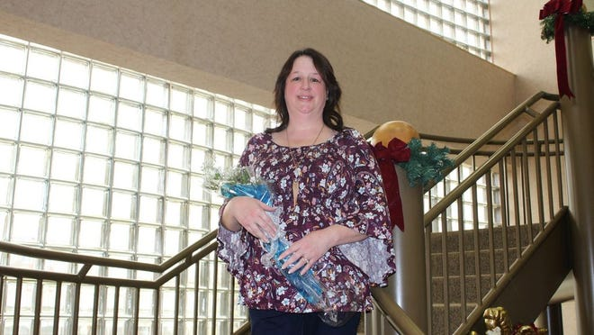 Mechelle Grumney is one of many Phelps Health employees who have benefitted from an Auxiliary scholarship.