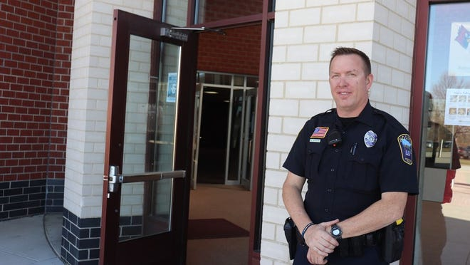 Mike Monson is serving as the school resource officer for the local district.