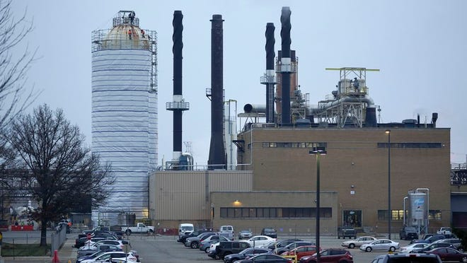The Pfizer Global Supply Kalamazoo manufacturing plant is shown in Portage, Mich., Friday, Dec. 11, 2020. The U.S. gave the final go-ahead Friday to the nation's first COVID-19 vaccine, marking what could be the beginning of the end of an outbreak that has killed nearly 300,000 Americans.