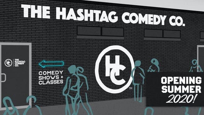 Hashtag Comedy's new space