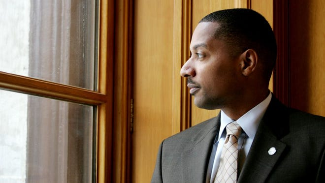 Kevin Boyce in January 2009, shortly after he was appointed Ohio treasurer
