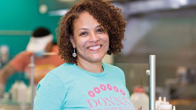 Traci Lukemire, owner of  Donna's Delicious Dozen