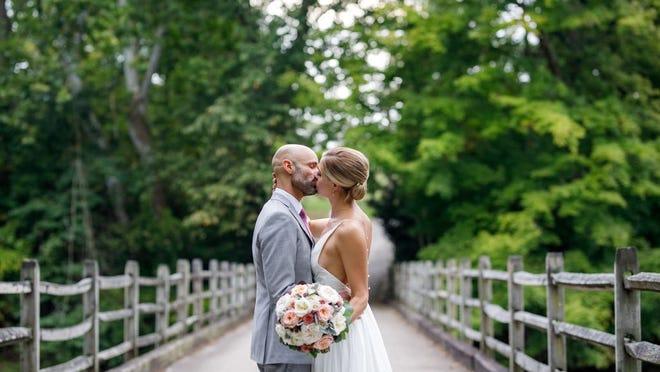 Christin & Mike Mercedes' wedding on Aug. 31, 2019