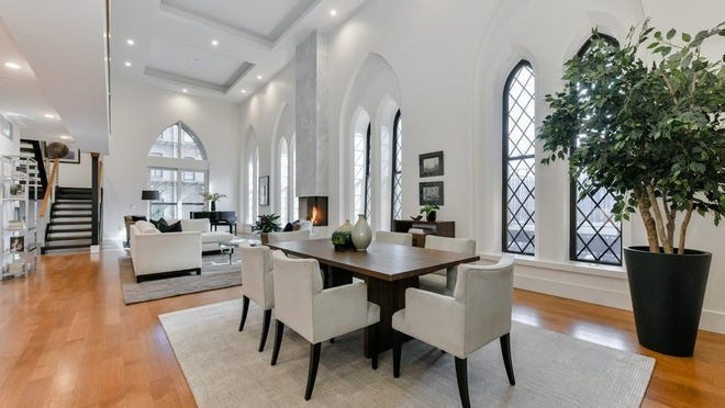 Undoubtedly one of the most dramatic and magnificently scaled properties in the South End, this newly constructed three-bedroom, three-and-a-half-bath residence at 201 West Brookline St. sold on May 1 for $3,975,000.