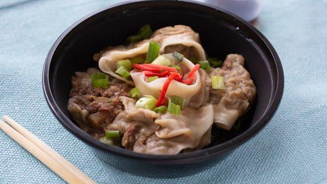 Beef Jiaozi from Dumplings of Fury