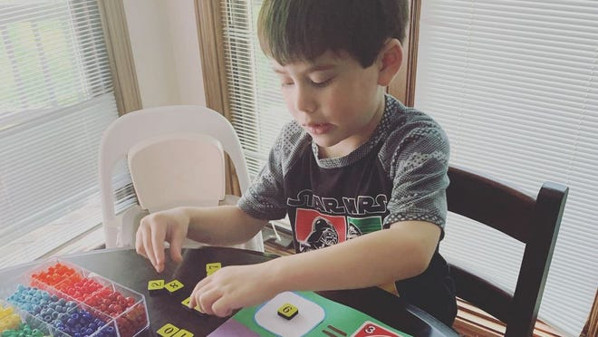 COSI Connects allows children to work on STEM activities at home.