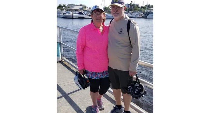 Anita Twardesky and her husband, Mike.