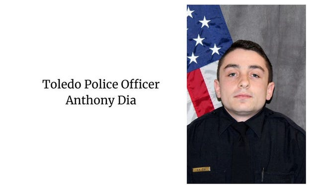 Toledo Police Officer Anthony Dia