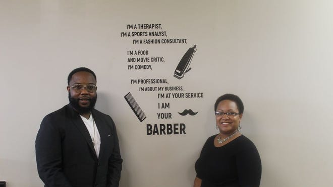 Gerod and Stephani Stiguis founded Basilio Barbershop in downtown Adrian in 2015. This fall, the two will open Legacy Barber College, 1114 S. Winter St., Adrian. The college will help students obtain a barber's license while also teaching life skills.