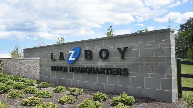 La-Z-Boy Headquarters entrance in Monroe.