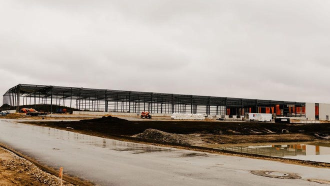 Perrigo has broken ground on a 357,000-square-foot distribution center at 796 Interchange Drive in Holland. The investment, totaling $13 million, is the company's third expansion in the region in the past two years.