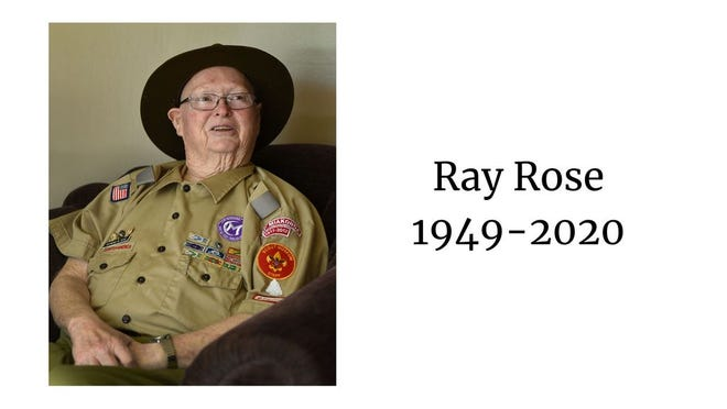 Ray Rose celebrated 60 years of involvement in scouting in 2018.