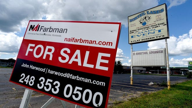The former site of Nortel Lanes in Monroe is up for sale