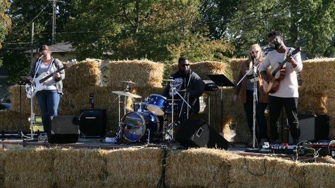 The band Native Heart performs in 2019 at the Appleumpkin Festival in Temperance.