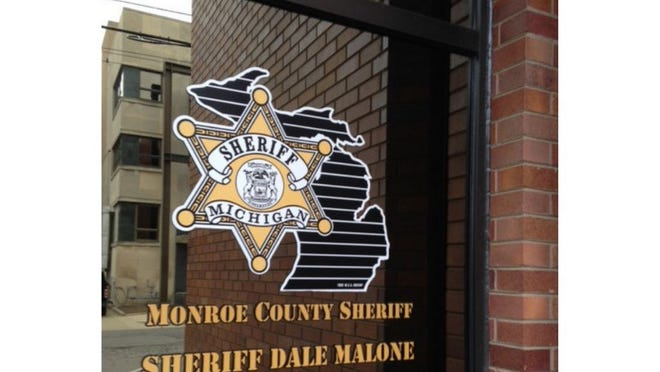 Entrance to Monroe County Sheriff's Office.