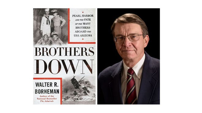 "Walter Borneman is the author of ""Brothers Down: Pearl Harbor and the Fate of the Many Brothers Aboard the USS Arizona."""