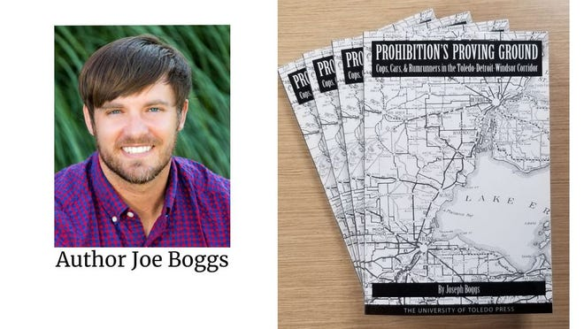 """Joe Boggs and his book """"Prohibition's Proving Ground"""""""