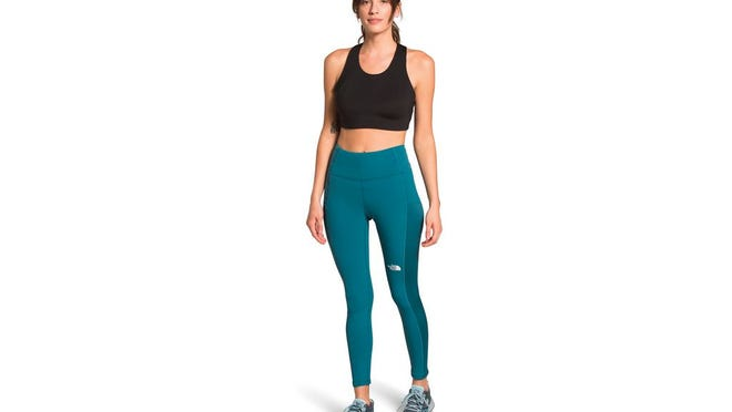 Women's winter warm high-rise tights, $89 at North Face