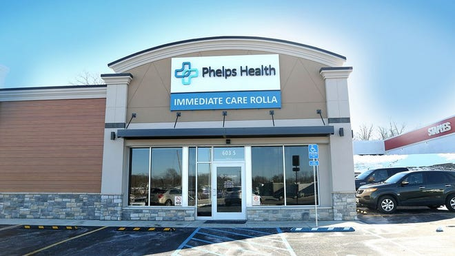Phelps Health Immediate Care Rolla, a new walk-in clinic serving patients in south-central Missouri, opened Monday, Feb. 1.