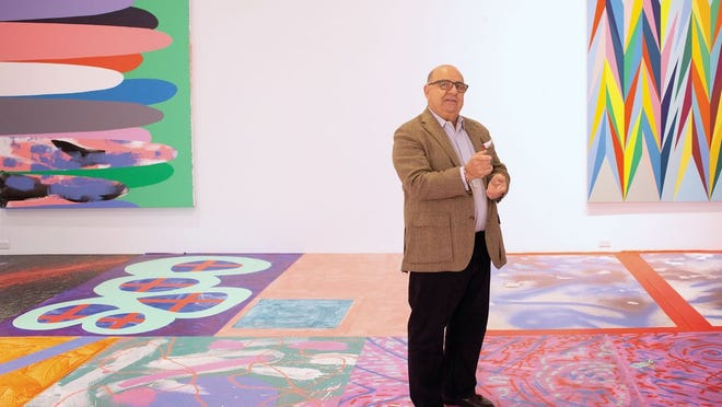 Ron Pizzuti at the Pizzuti Collection of the Columbus Museum of Art in the Short North