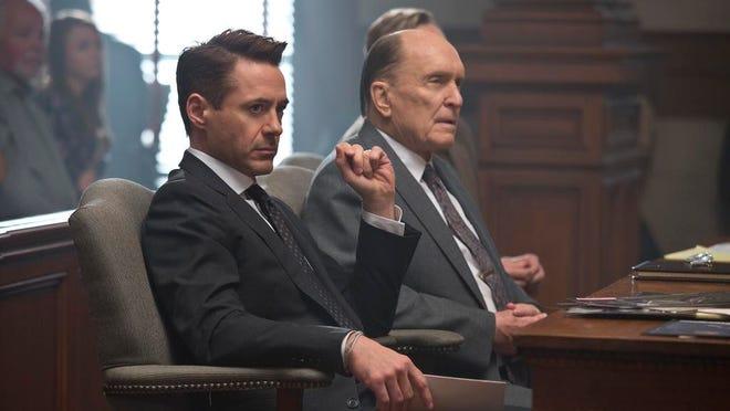 "Robert Downey Jr., and Robert Duvall star in ""The Judge."""