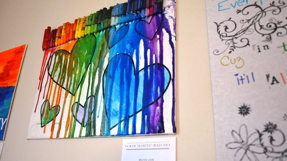 Art, mental health link featured at gallery exhibit