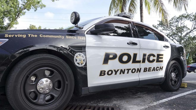 Boynton Beach police car.