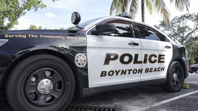Boynton Beach police car.