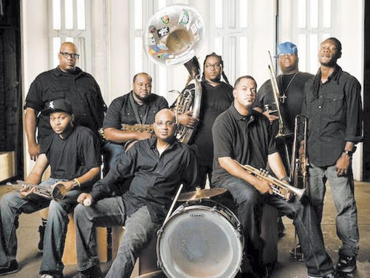 The Soul Rebels performs Thursday at the Haunt.