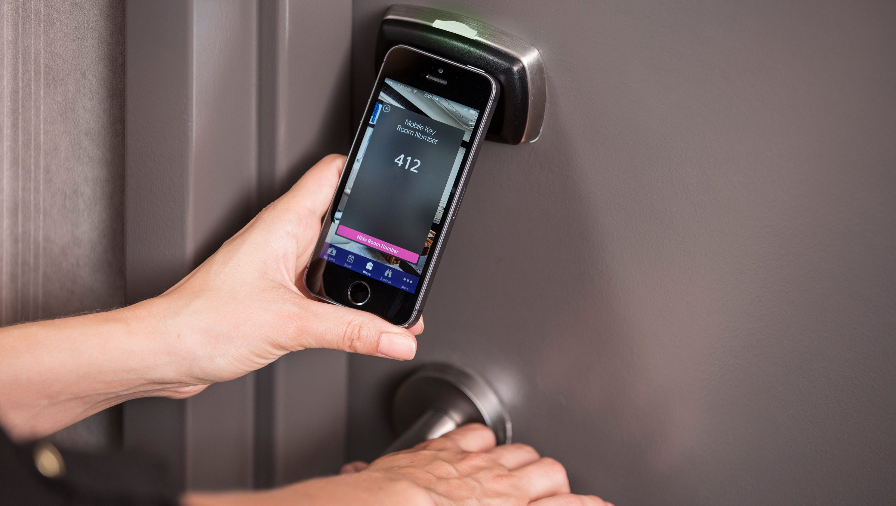 Check into a hotel with your smartphone