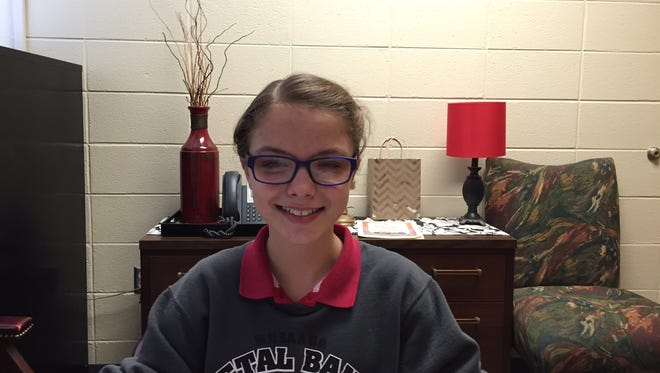 Petal Middle School seventh-grader Sydney Oliver won an award for a letter she wrote to American Eagle Outfitters.