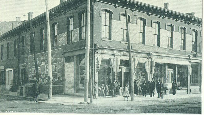 The Railroad Store at the southeast corner of North Eighth and E streets is the former site of Vanneman, Reid & Company, pork packers in early Richmond. Most recently the site housed High Hats Antiques.