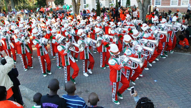 Tallahassee residents and visitors filled Florida A&M University's campus last year to watch the annual homecoming parade.