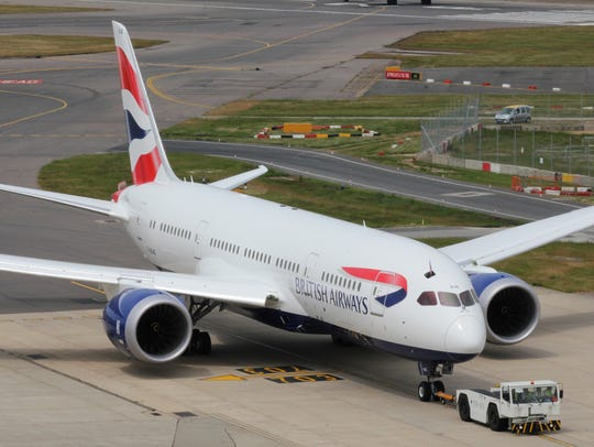 British Airways' first Boeing 787 Dreamliner arrives