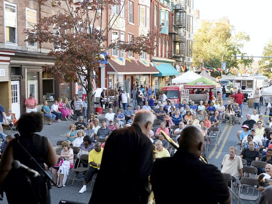 The ninth-annual Eight Street Music Festival presents Oktoberfest this year, complete with German food and beer gardens.