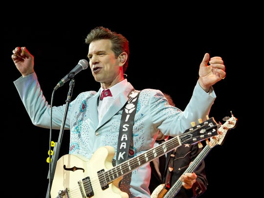 Chris Issak will play at Tarrytown Music Hall on Aug.