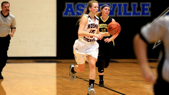 The Rosman girls have a first-round game Saturday in the Big Smoky Mountain Conference basketball tournament.