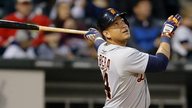 Detroit Tigers' Miguel Cabrera.