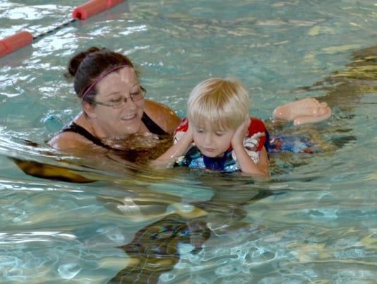 Special Olympics Swim Meet 1
