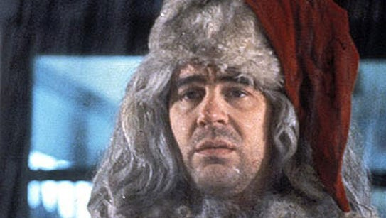 """Dan Aykroyd as Santa Claus in """"Trading Places."""""""