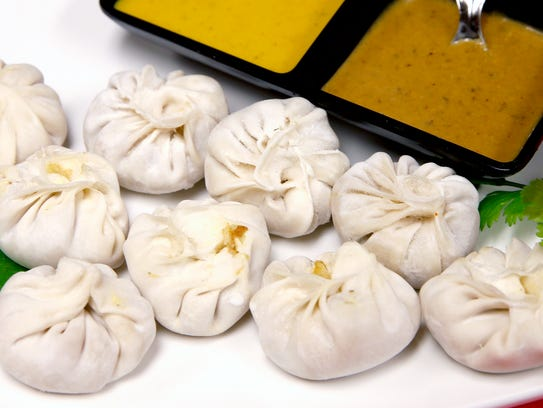 Momos, a type of dumpling made by Namaste Curry House
