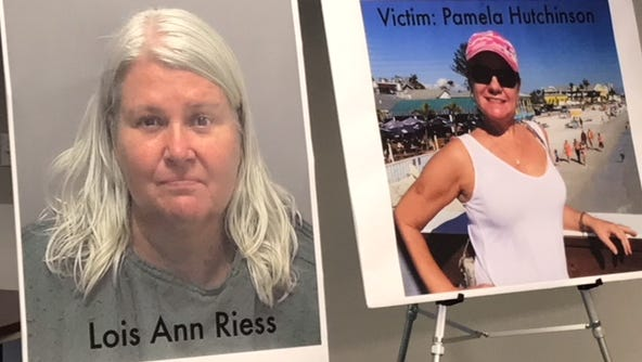 A first-degree murder indictment was filed Wednesday against Lois Riess.