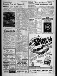 BC Sports History: Week of Nov. 26, 1965