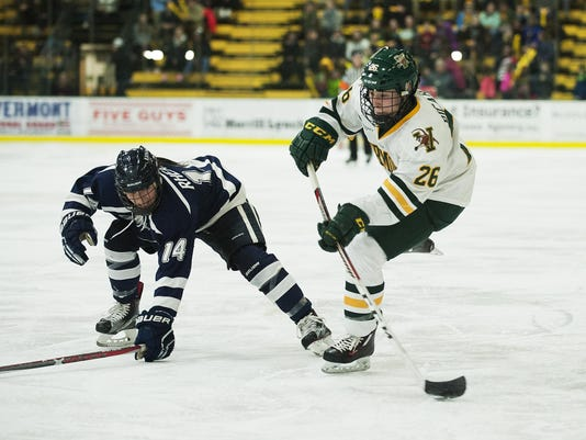 New Hampshire vs. Vermont Women's Hockey 02/03/17